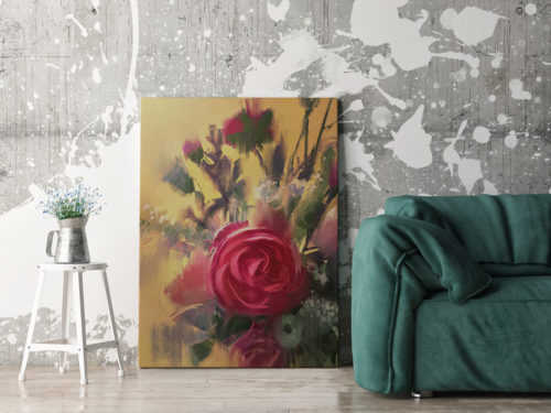 https://redro.pl/fototapeta-painting-showing-bouquet-of-beautiful-pink-roses,88998978