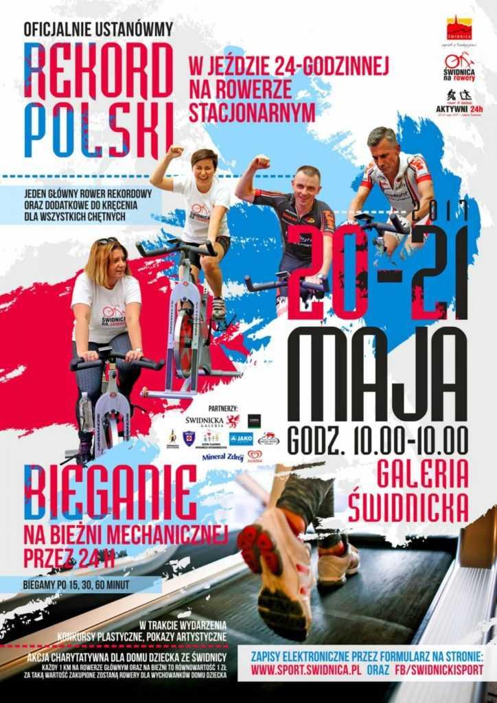 AKTYWNI 24h! Pobijmy wspólnie rekord Polski i Świdnicy