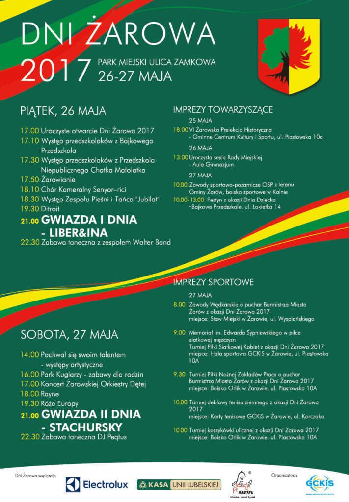 Dni Żarowa (PROGRAM)