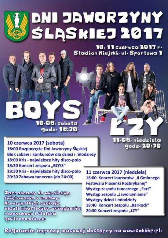 Boys i Łzy na Dniach Jaworzyny