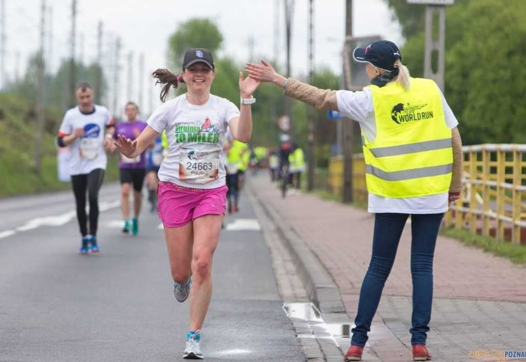 Świetna Wojtanowska na Wings for Life World Run