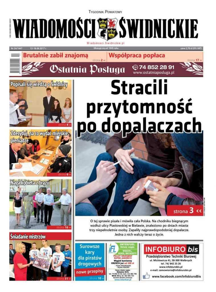 """Nowy numer 'Wiadomości Świdnickich"""" już w kioskach"""