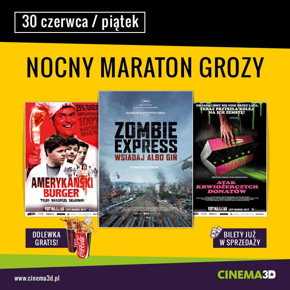 Maraton Grozy w Cinema3D (KONKURS)