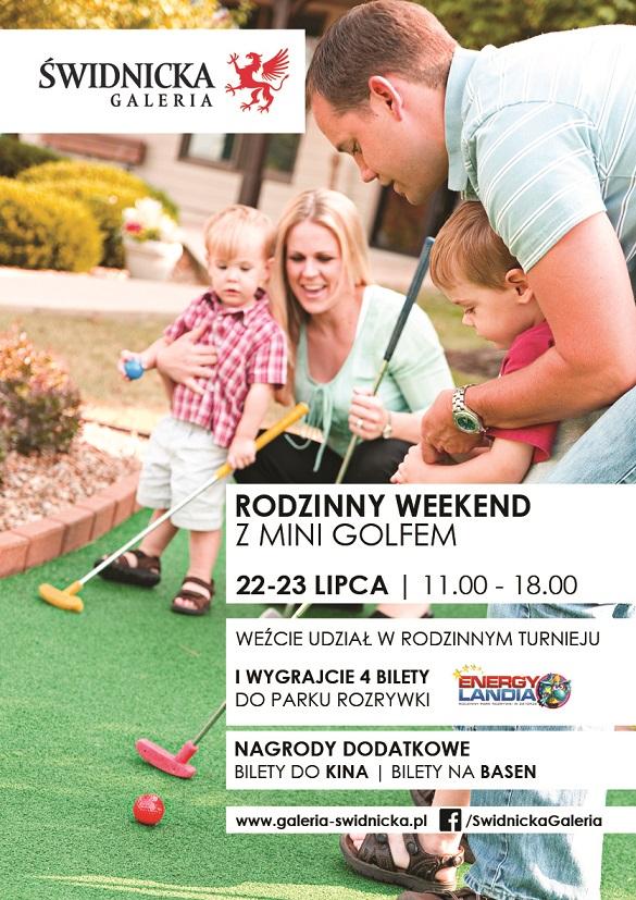 Rodzinny weekend z mini golfem w Galerii Świdnickiej