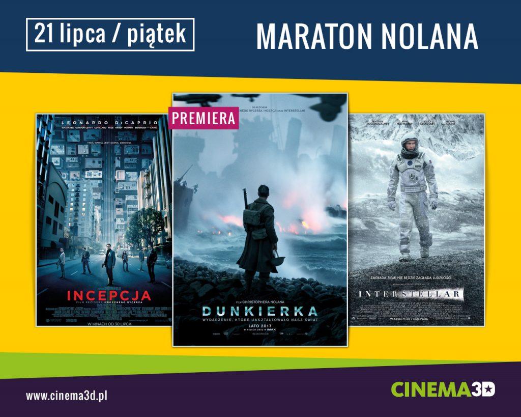 Maraton Nolana w CINEMA3D (KONKURS)