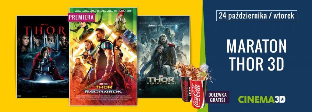 Październikowy Maraton filmów Thor 3D