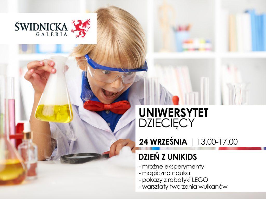 Uniwersytet Dziecięcy w Galerii Świdnickiej