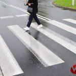 Potrącił kobietę na przejściu dla pieszych i uciekł