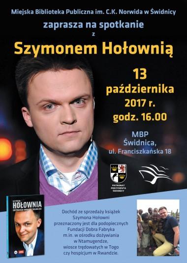 Szymon Hołownia w Świdnicy