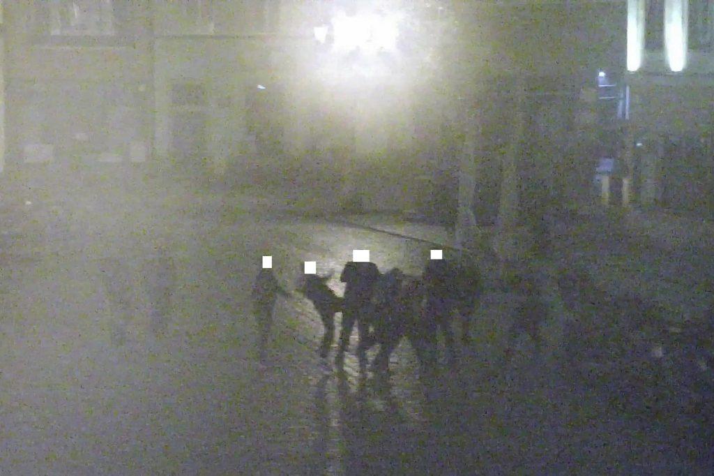 Nocne walki w Rynku (FOTO)