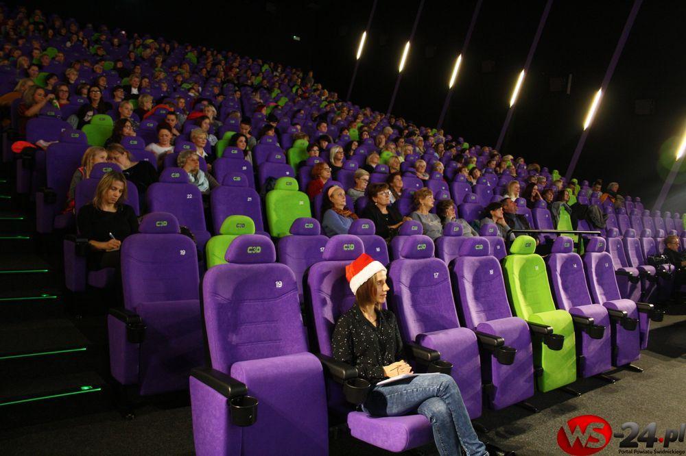 """""""Sylwestrowa Noc Filmowa"""" w Cinema3D"""