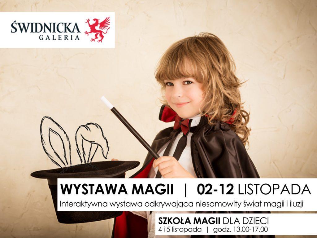 Wystawa magii w Galerii Świdnickiej