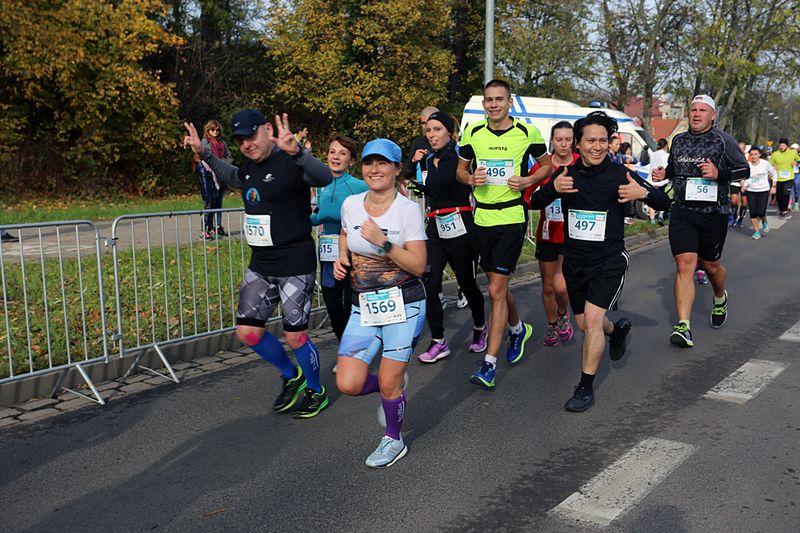4. RST Półmaraton Świdnicki. Będą utrudnienia (MAPY)