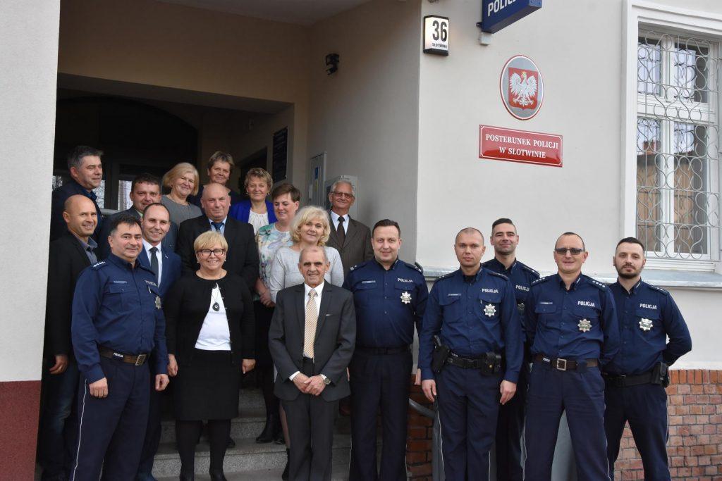 Nowy posterunek policji w Słotwinie (FOTO)