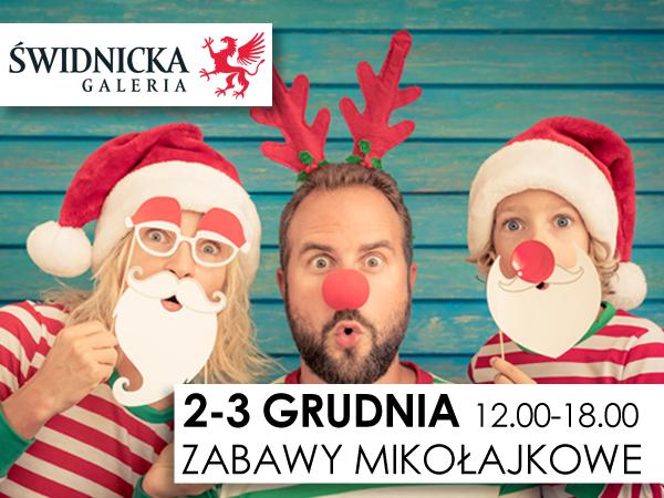 Zabawy Mikołajkowe w Galerii Świdnickiej!