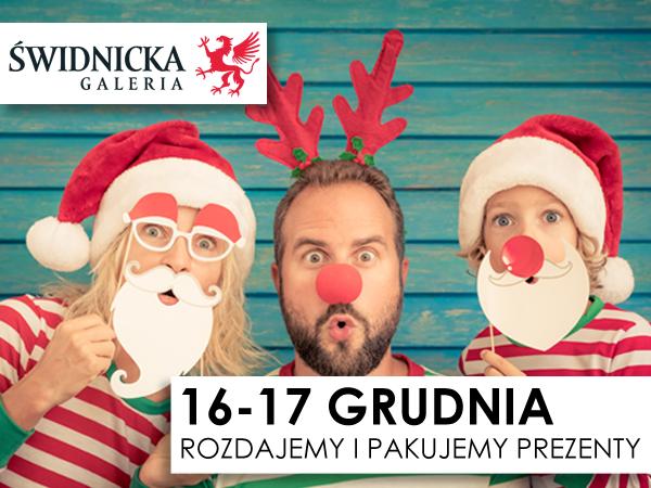 Galeria Świdnicka rozdaje prezenty