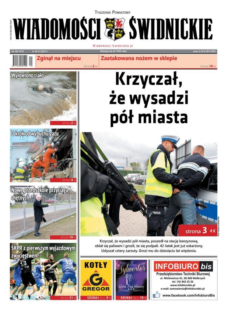 """""""Wiadomości Świdnickie"""" z prezentami"""