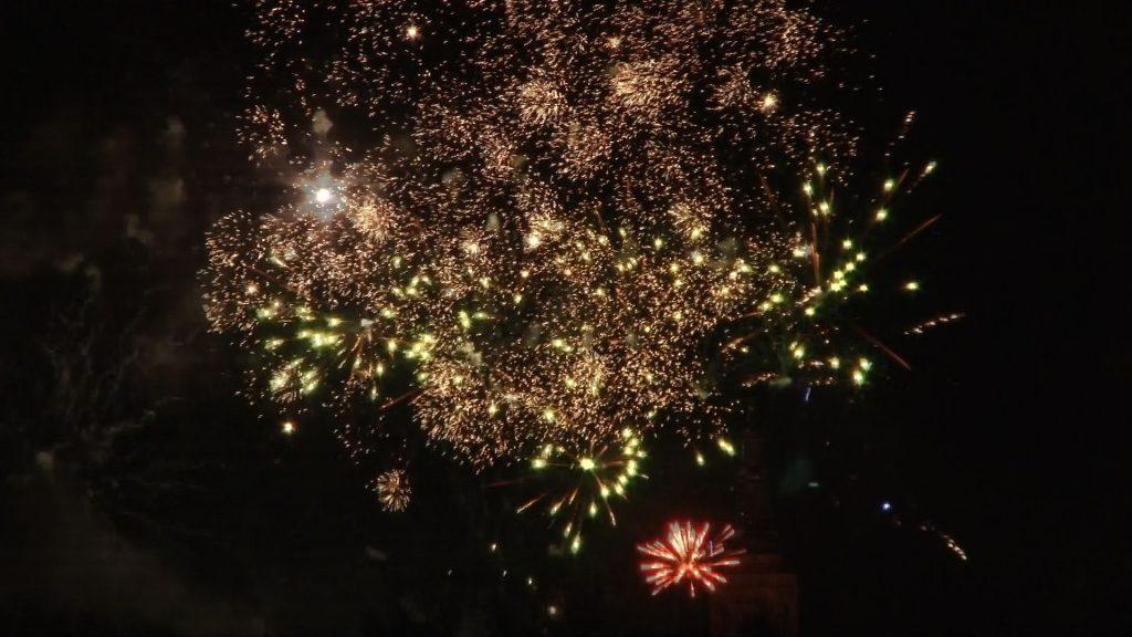 Powitanie Nowego Roku w Świdnicy (VIDEO)