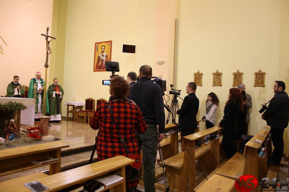 Biskup spotkał się z dziennikarzami (FOTO)