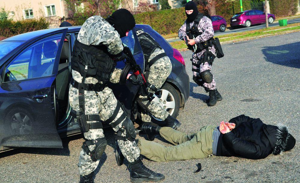Groźni przestępcy w rękach policji