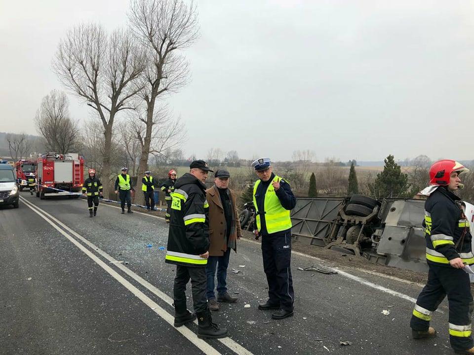 Z pomocą dla poszkodowanych w wypadku