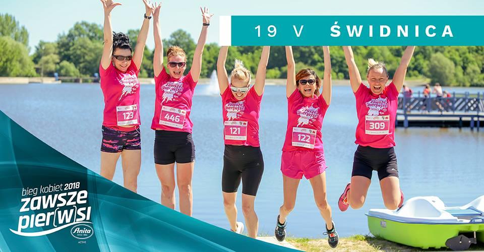 Mamy sposób na raka! Bieg Kobiet Anita Zawsze Pier(w)si 2018 także w Świdnicy! (FOTO, MAPKI)