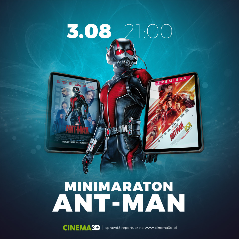 Minimaraton Ant-Man. Wygraj bilety! (KONKURS)