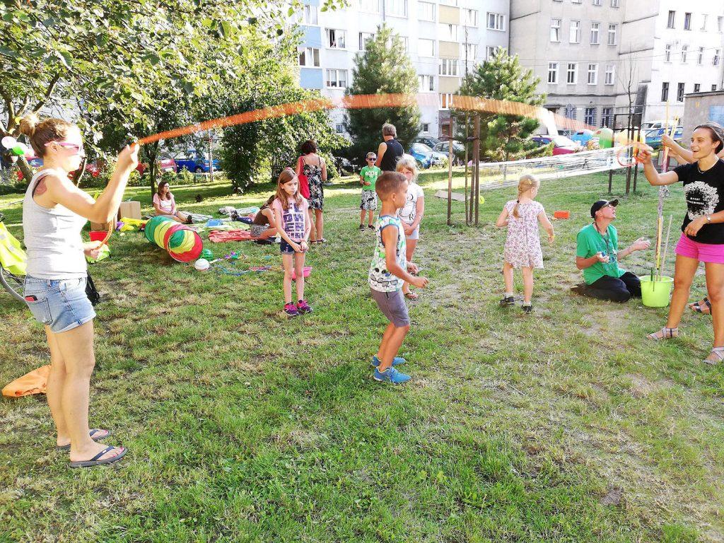 Lato na podwórku w Świdnicy