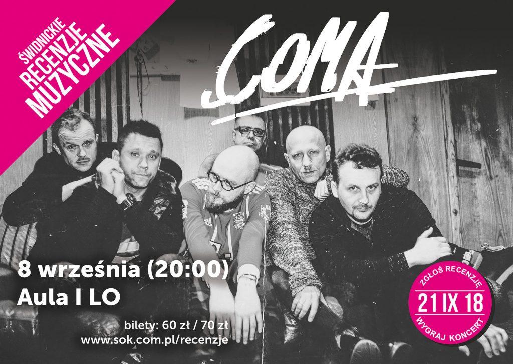 Coma zagra w Świdnicy. Wybierz kolejne koncerty