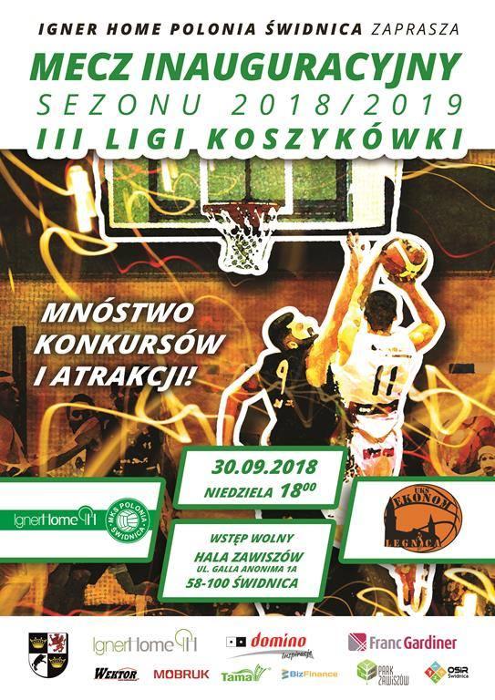 Koszykarze na tarczy z Oleśnicy