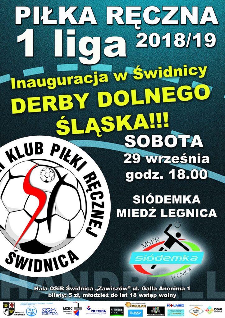 Derby Dolnego Śląska na przywitanie z kibicami
