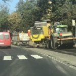 Uwaga kierowcy! Utrudnienia na drodze w Mokrzeszowie