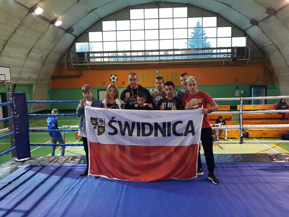 Bokser Polonii z medalem Mistrzostw Polski