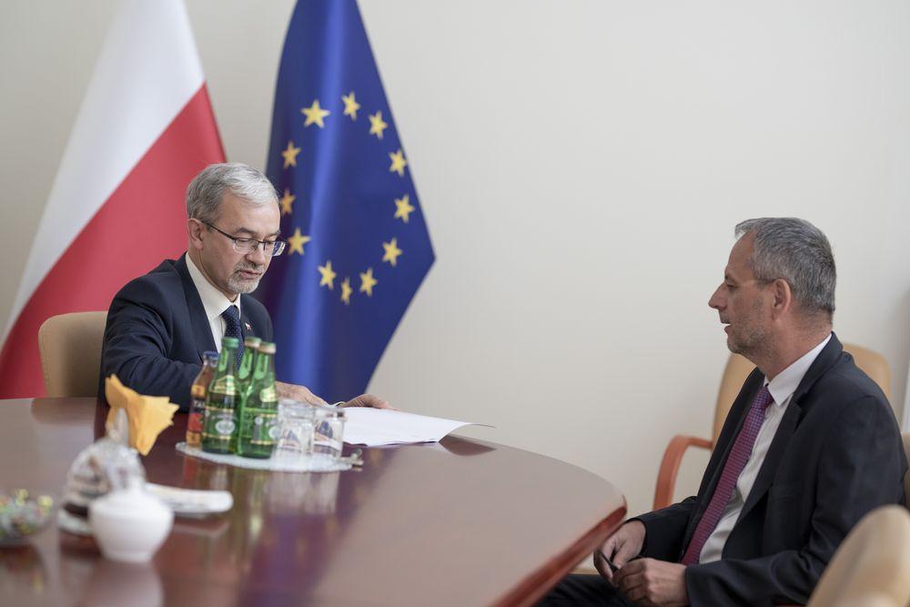 Rozmawiali o S8 i obwodnicy Świdnicy