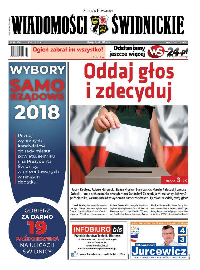 """Nowy numer """"Wiadomości Świdnickich"""" już w kioskach"""