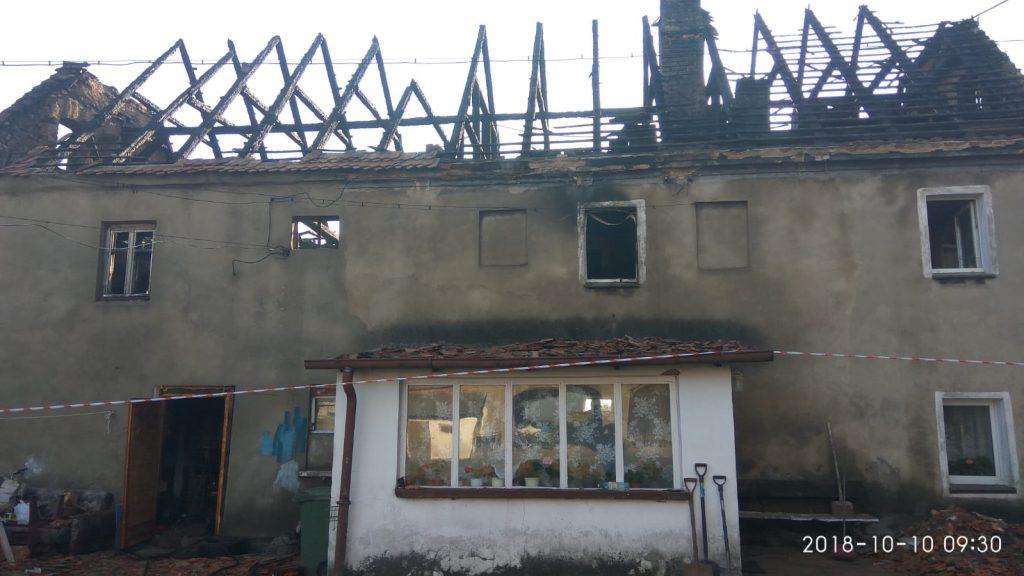 Pożar w Mokrzeszowie. Potrzebna pomoc