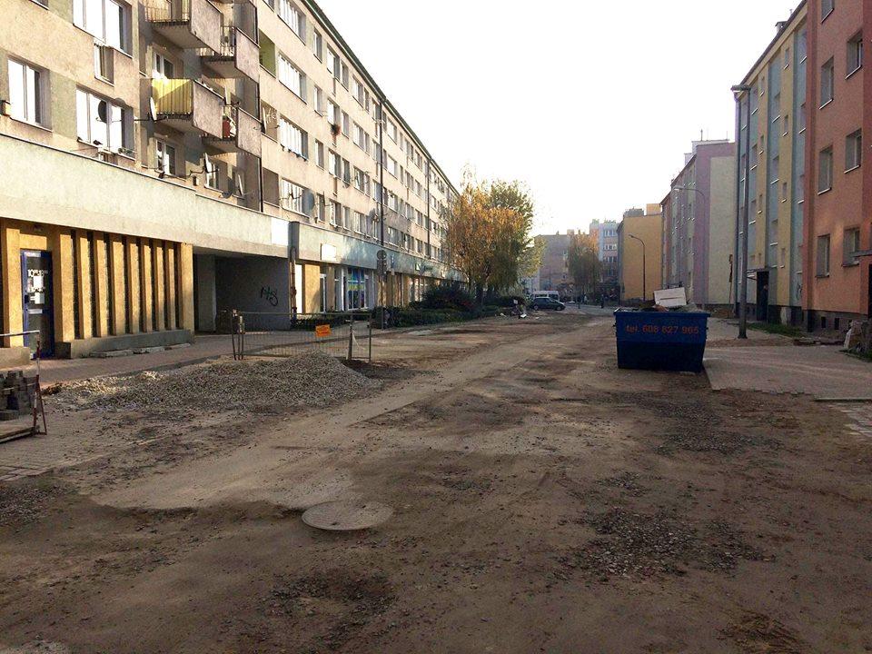 Remont ulicy Siostrzanej