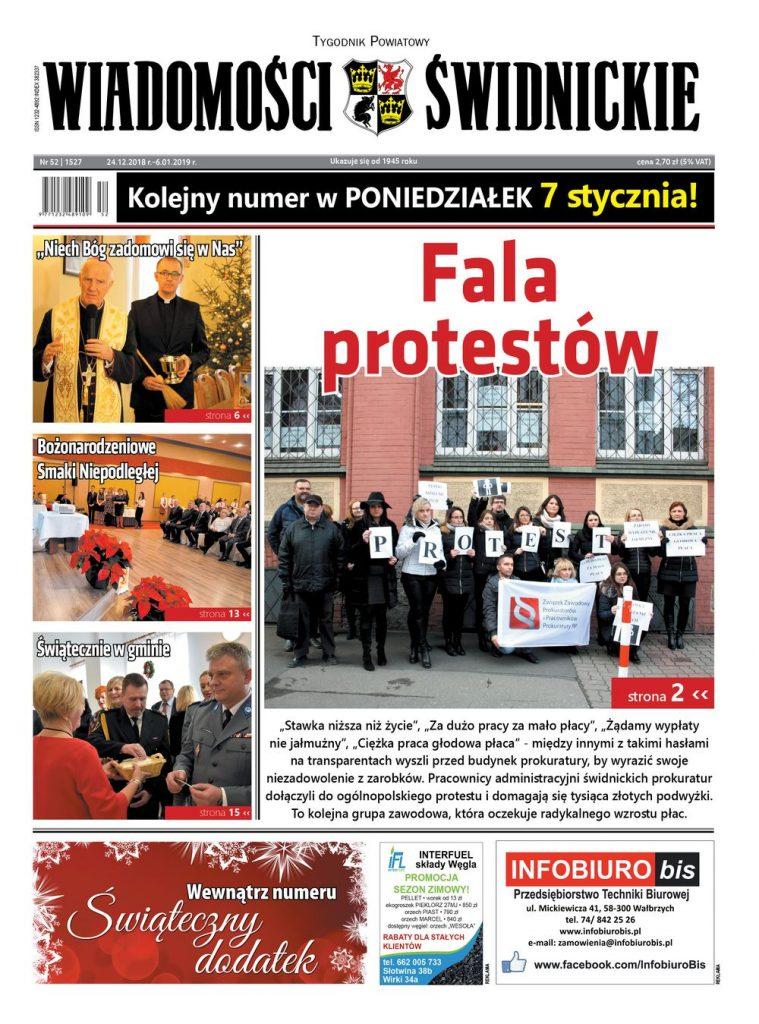 """Nowy numer """"Wiadomości Świdnickich"""" z dodatkiem świątecznym!"""