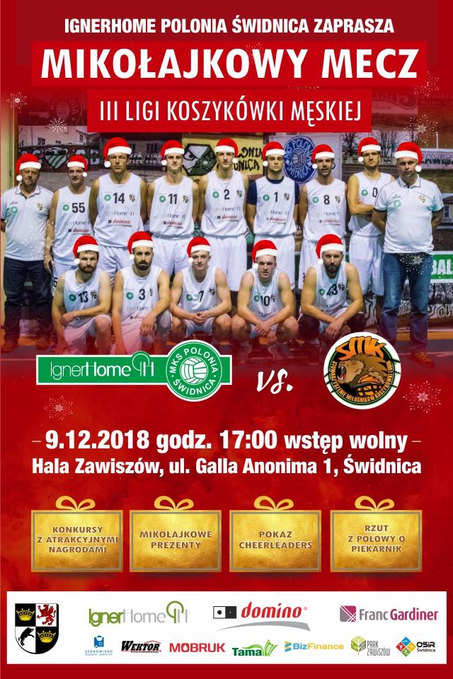 """""""Mikołajki"""" z koszykarzami"""