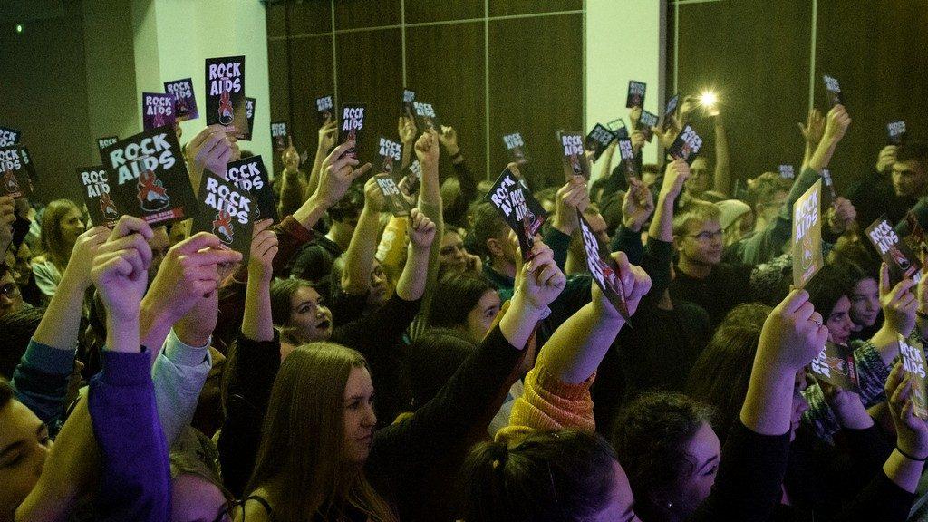 Koncertowo uczcili Światowy Dzień Walki z AIDS