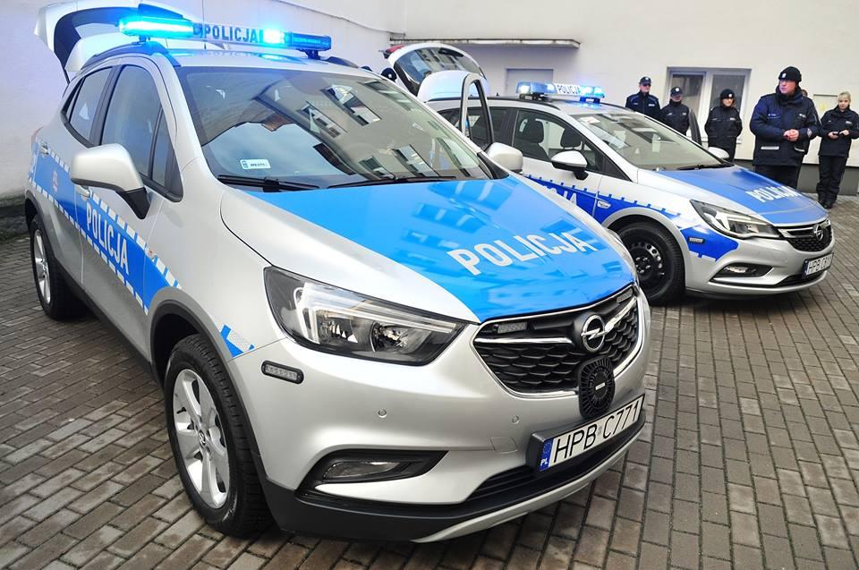 Nowe radiowozy dla świdnickiej policji