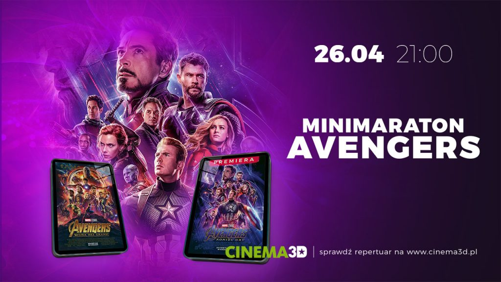 """Avengers: Koniec Gry"" i Minimaraton"
