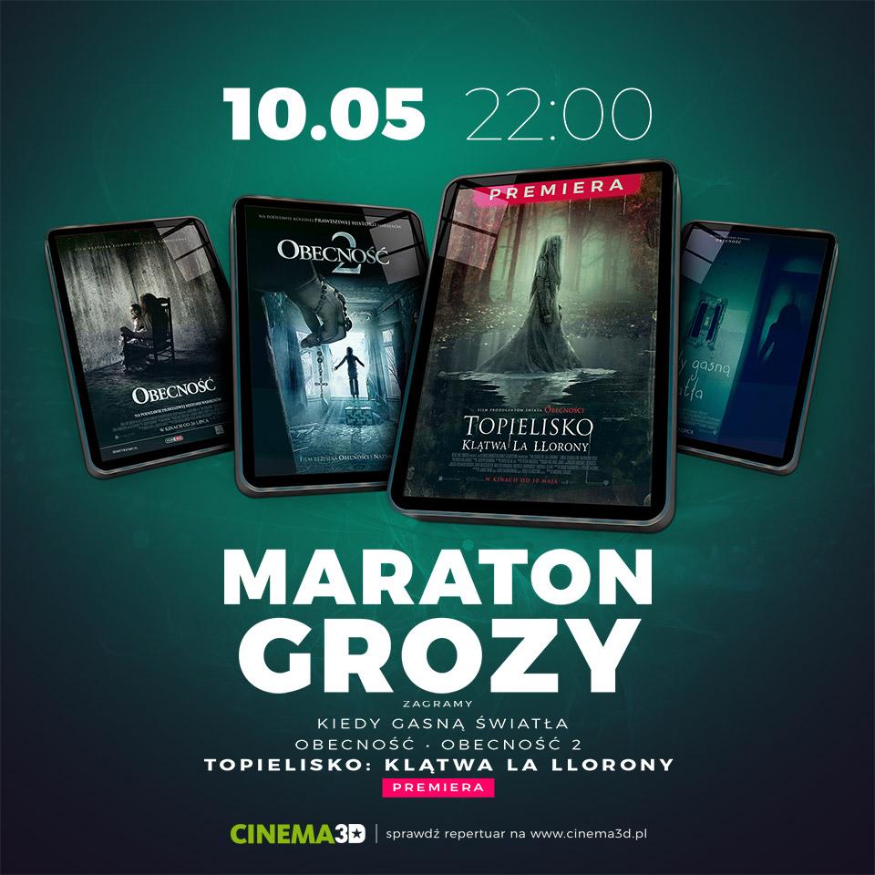 Maraton Grozy (WYGRAJ BILETY)