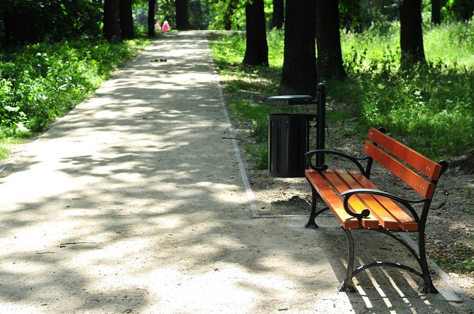 Nowe alejki w Parku Wrocławskim