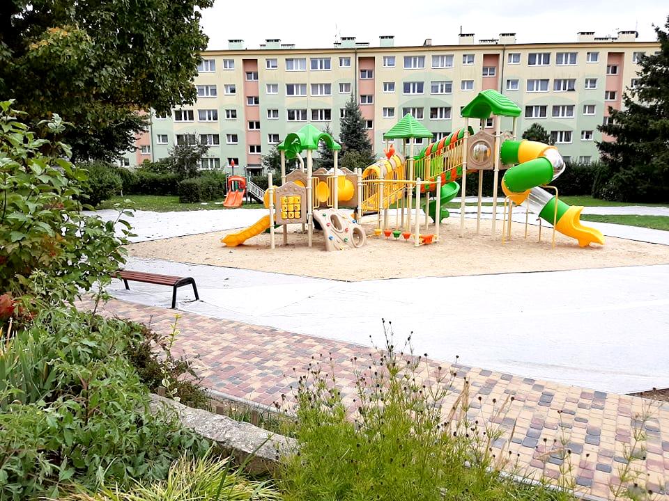 Nowy plac zabaw
