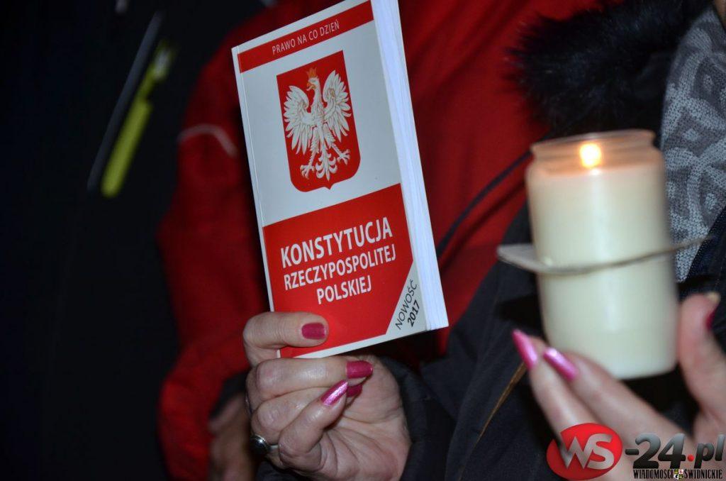 Świdnica również protestowała [FOTO]