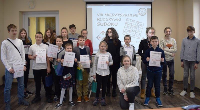 Powiatowy konkurs Sudoku [FOTO]
