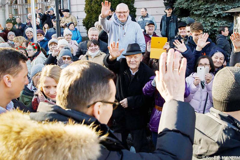 Premier z wizytą  w województwie dolnośląskim