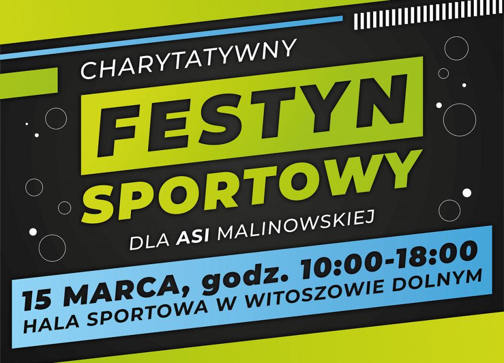 Charytatywny Festyn Sportowy dla Asi Malinowskiej