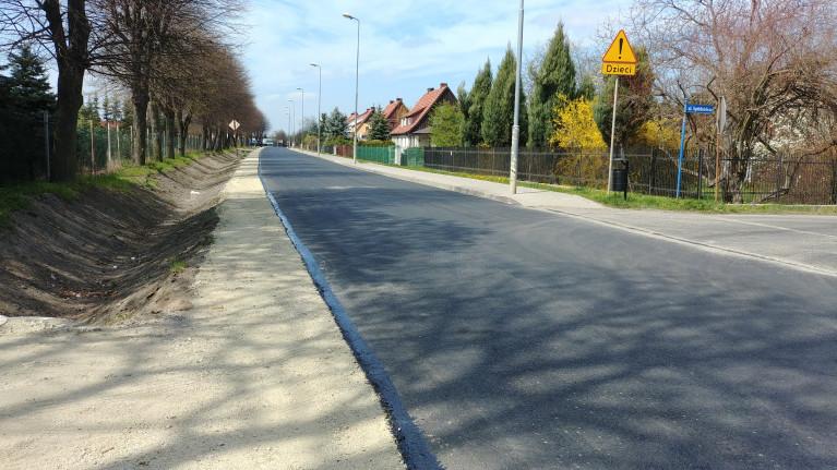 Jaworzyńska droga oddana do użytku